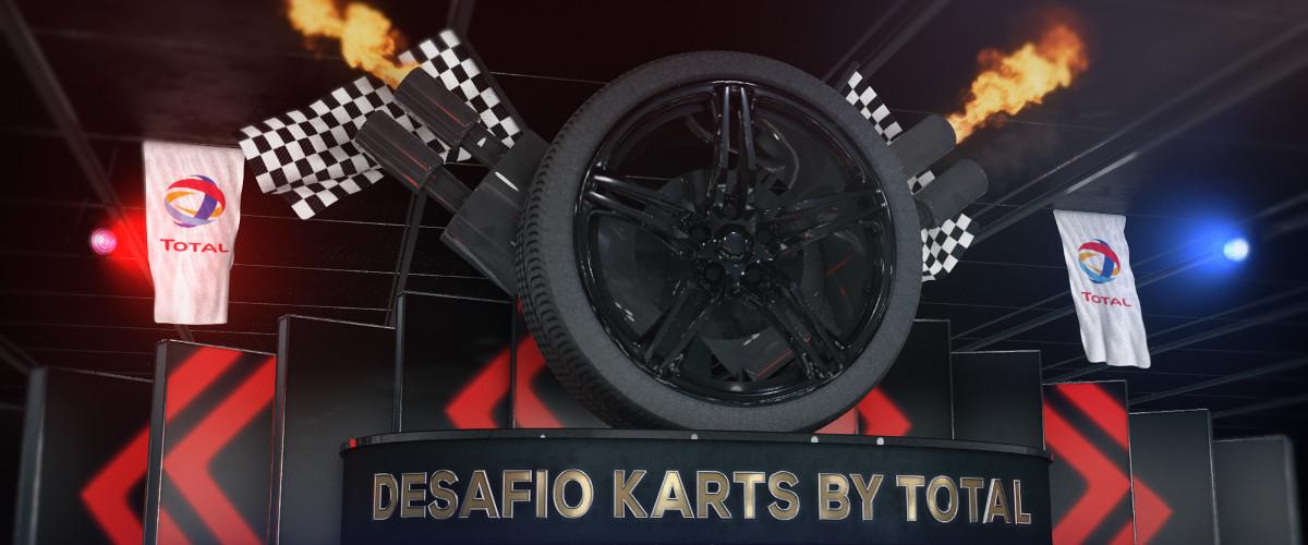O Desafio Karts by Total já está aqui, está pronto?